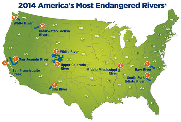 America Most Endangered Rivers